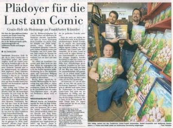 Frankfurter Neue Presse vom 11.05.2013