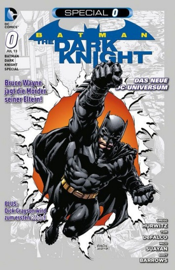DC Zero 3: Batman – The Dark Knight Special 0
