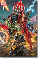 Avengers 1 Marvel Now! Variant