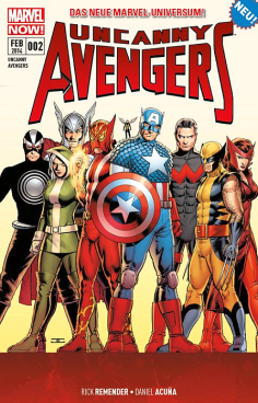 Uncanny Avengers 2: Die Apokalypse-Zwillinge