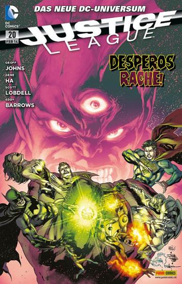 Justice League Heft 20