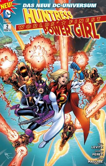Worlds' Finest – Huntress & Power Girl 2: Familienbande