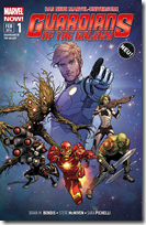 Guardian of the Galaxy 1: Space Avengers
