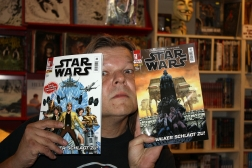 Wolfgang präsentiert den neuen STAR WARS Comic im Shining-Style
