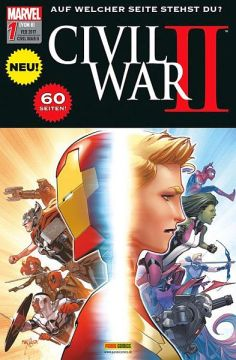Civil War II 1 (reguläres Cover)