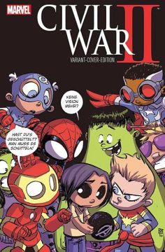 Civil War II 1 (Variant Cover B)