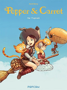 Pepper & Carrot, Band 1