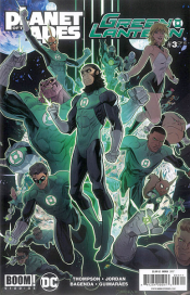 PLANET OF APES GREEN LANTERN #3