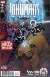 Inhumans: Once & Future Kings #1