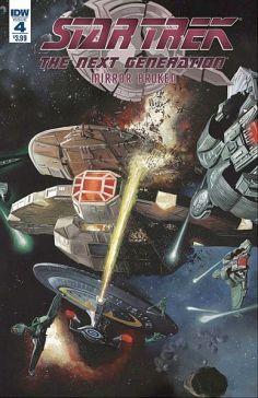 Star Trek The Next Generation: Mirror Broken #4