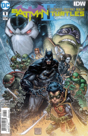 Batman/Teenage Mutant Ninja Turtles II #1